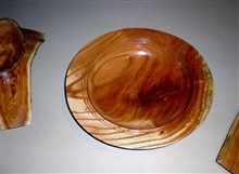 SHALLOW BOWL BY LARNIE CROS