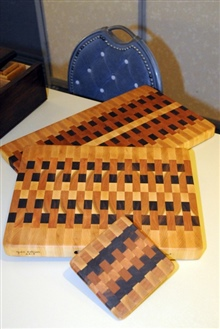 Edge Grain Cutting Boards By George And Julie Sullivan