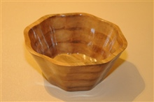 Scalloped Bowl   Two By Wayne Dombroski