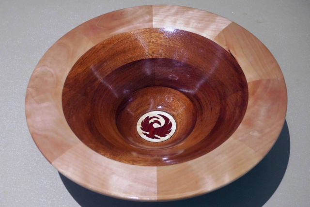 Turned Bowl By Walter Chekay