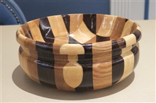 Turned Bowl By Jack Newbauer