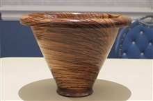 Segmented Bowl  Side View By Sandy Moraco