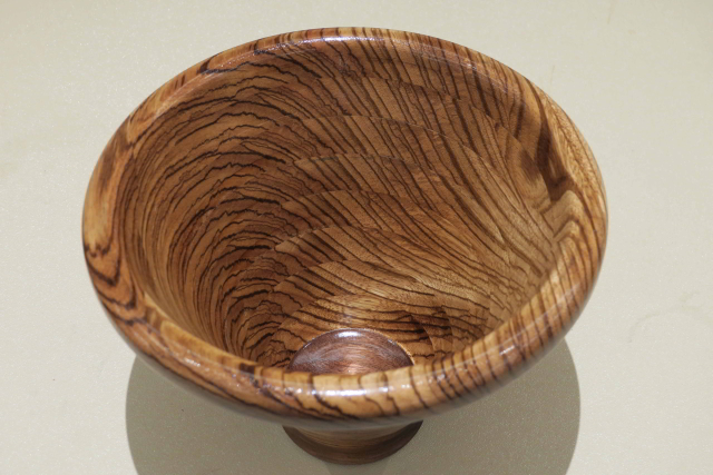Segmented Bowl  Top View By Sandy Moraco