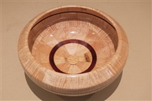 Segmented Bowl Top View By Skip Banks