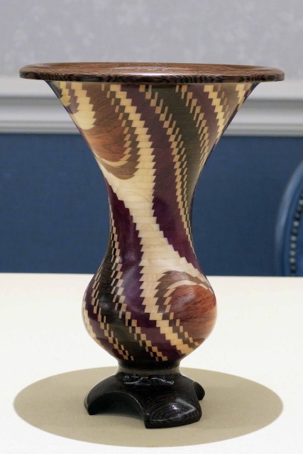 Turned Vase  Side View By Ray Roberts
