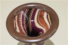 Turned Vase  Top View By Ray Roberts