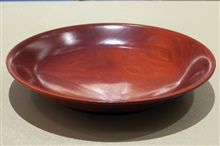 Turned Platter by Leif Drexler