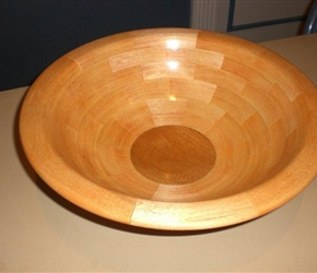 SEGMENTED BOWL BY CARSON WIEDERMAN