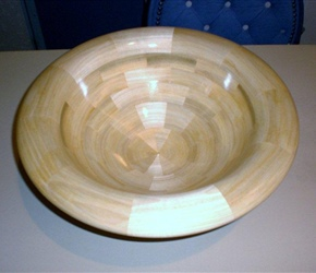 SEGMENTED BOWL BY SKIP BANKS