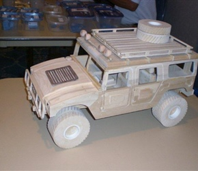TOY HUMMER BY GREGE WERNER
