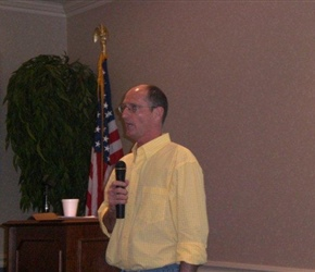 MARK ADAMS OF MARK ADAMS SCHOOL OF WOODWORKING WAS THE GUEST SPEAKER.jpg