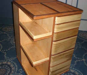 TOOL AND PARTS STORAGE CABINET ON ROLLERS BY SKIP BANKS.jpg