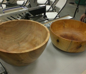LARGE BOWLS BY RON BROWNIN