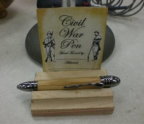 CIVIL WAR PEN BY DAVE SARGEN