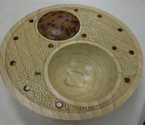 OFF CENTER BOWL BY TOM MILLE