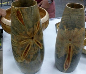 TWO VASES BY TOM MILLE