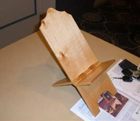 FOLDING BOOK STAND BY MATT DRAZDOF