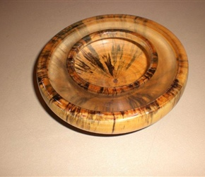 PARTIALLY COVERED BOWL BY KAY STOLT