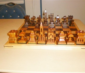 CHESS SET BY JOE KOZLER
