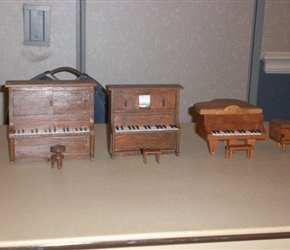 MINIATURE PIANOS BY JACK TAYGE