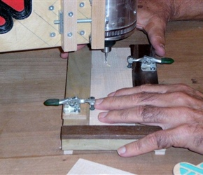 DEMO ON OVERHEAD PIN ROUTER