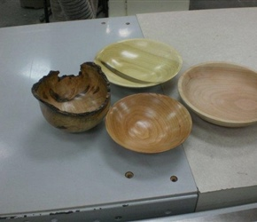 FOUR BOWLS BY BILL McALISTE